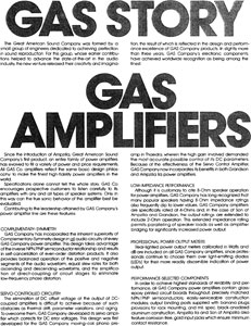 GAS Products 1978