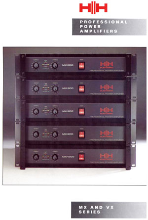 HH Electronic Professional Power Amplifiers