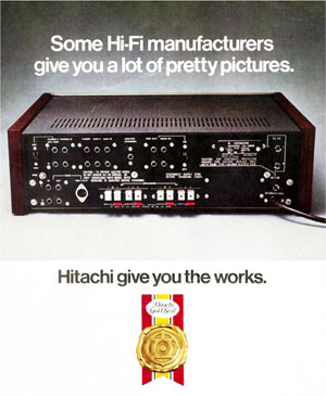 Hitachi Give You The Works