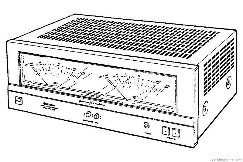 hitachi hma-8500 - manual - stereo power amplifier