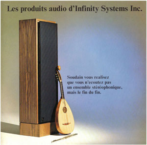 Infinity Audio Products