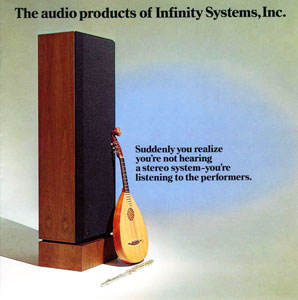 Infinity Audio Products 1977