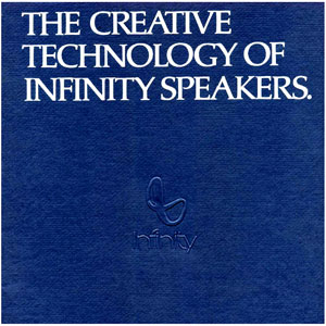 Infinity The Creative Technology of Speakers