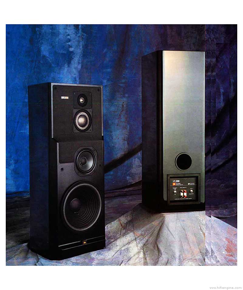 Jbl Xpl200 - Manual - 4-way Loudspeaker System