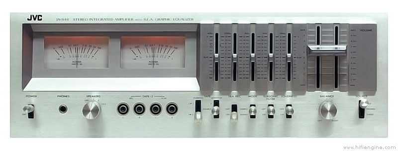 Jvc Ja-s44 - Manual - Stereo Integrated Amplifier