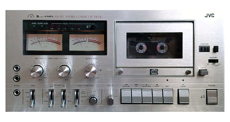 jvc kd-95 - manual - stereo cassette deck