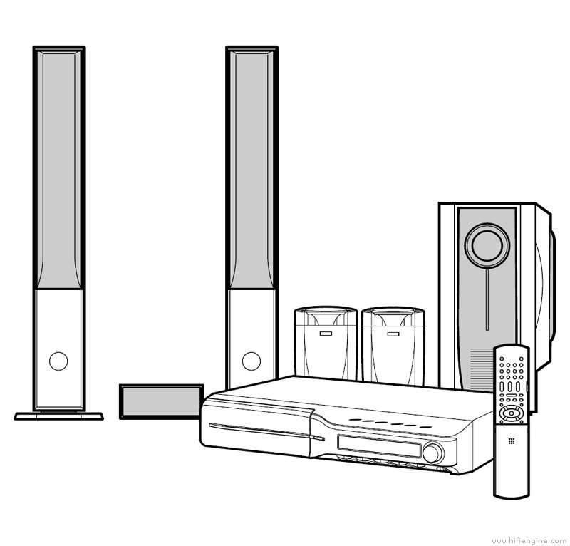 mitsubishi home theater system