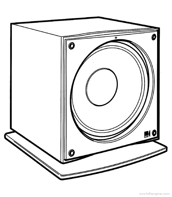Subwoofer And Installation Diagram