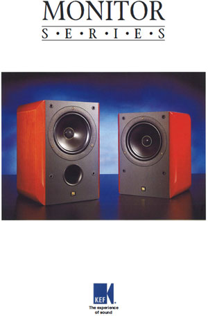 KEF RDM Monitor Series