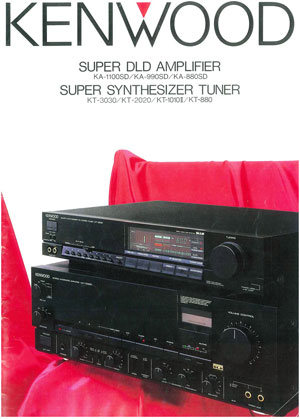 Kenwood Amplifiers and Tuners