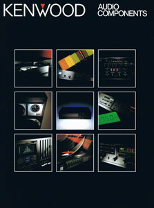 Kenwood Audio Components 1984
