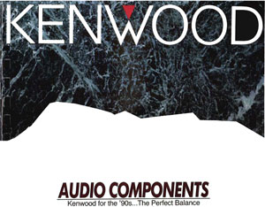 Kenwood Audio Components 1990