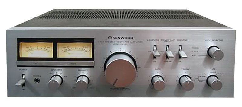 kenwood ka-501 - manual