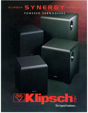 Klipsch Synergy Series Subwoofers