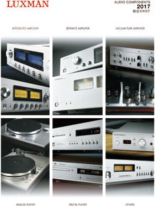 Luxman Audio Components 2017