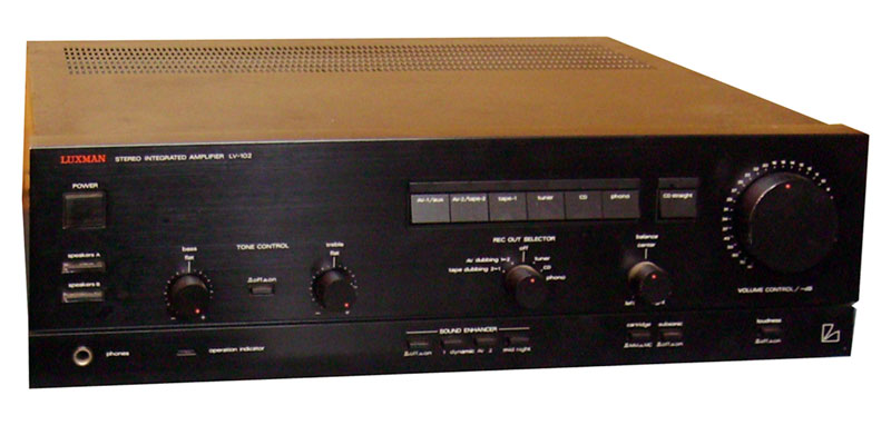 Luxman Lv 102 Manual Stereo Integrated Amplifier