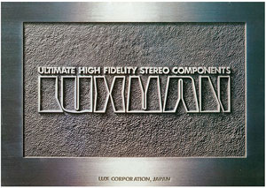 Luxman Ultimate High Fidelity Stereo Components