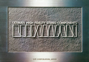 Luxman Ultimate High Fidelity Stereo Components 1978