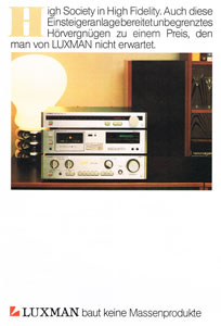 Luxman Ultimate High Fidelity Stereo Components 1983