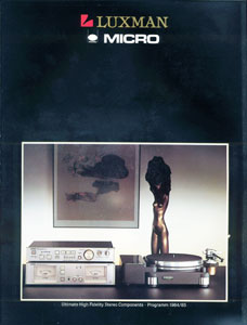 Luxman Ultimate High Fidelity Stereo Components 1984-1985