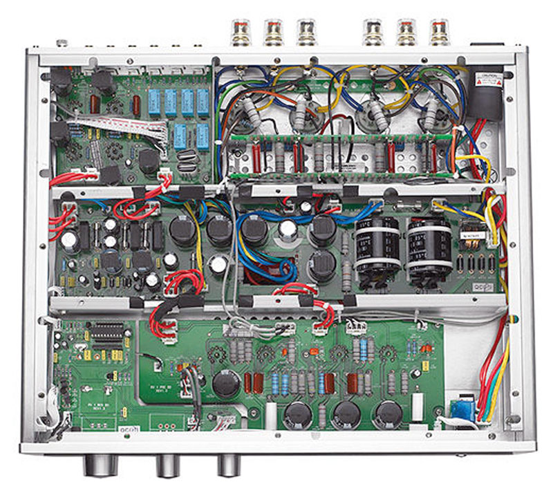 magnat rv 1 - manual - integrated tube amplifier