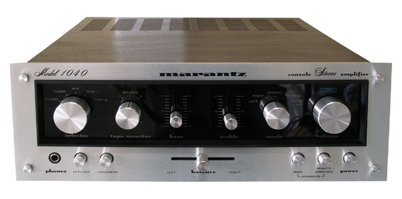 Marantz 1040 - Manual - Stereo Console Amplifier - HiFi Engine