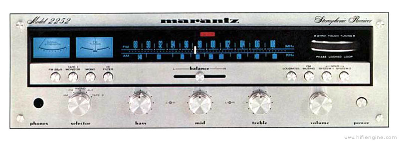 Marantz 2252 Manual Solid State Stereophonic Receiver
