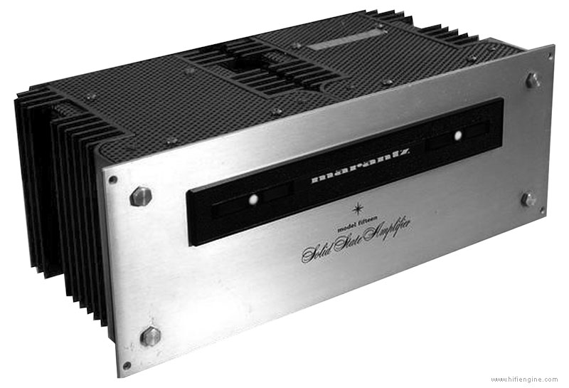 Marantz 15 - Manual - Solid State Stereo Power Amplifier