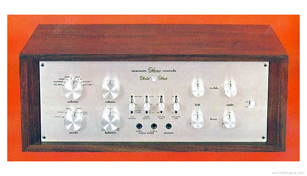 Marantz Model 7 - Manual - Stereo Pre-amplifier