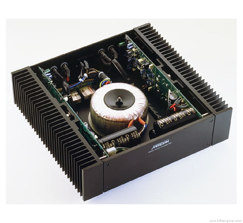 Meridian 556 - Manual - Stereo Power Amplifier - HiFi Engine