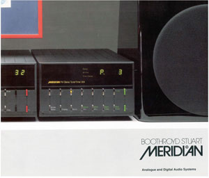 Meridian Analogue and Digital Systems