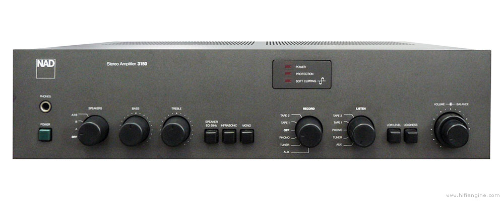 nad 3150 manual stereo integrated amplifier hifi engine rh hifiengine com nad 3150 service manual pdf Nad 3150 Review