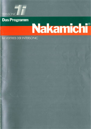 Nakamichi Products
