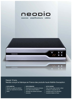 Neodio Sources Amplifiers Cables