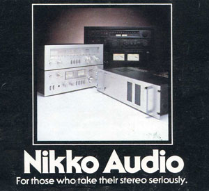 Nikko Audio 1978