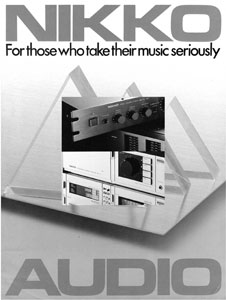 Nikko Audio 1981