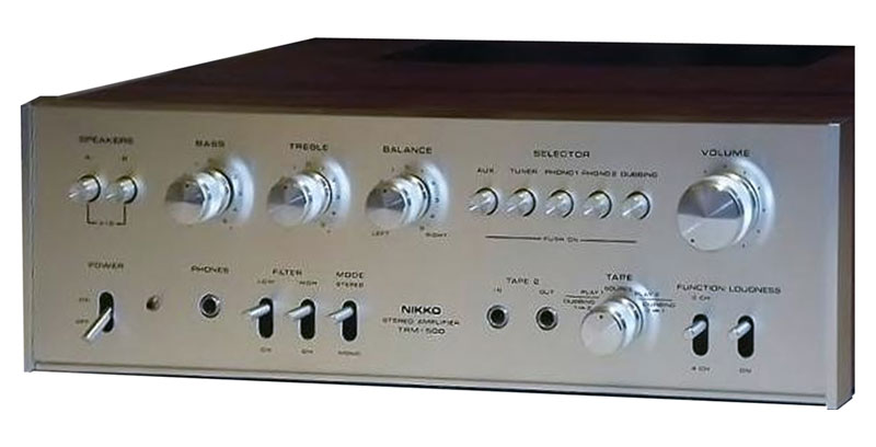 Nikko Trm 500 Manual Stereo Integrated Amplifier