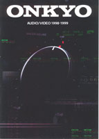 Onkyo Audio Video 1998-1999