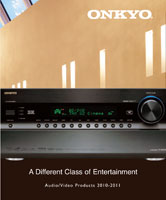Onkyo Audio Video 2010-2011