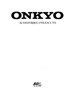 Onkyo Audio Video