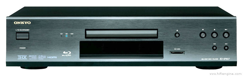 Onkyo Bd-sp807 - Manual - Blu-ray Disc Player