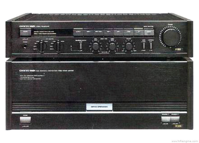 Onkyo M 502 Manual Stereo Power