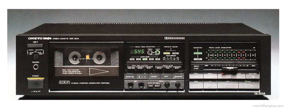 Onkyo Service Manual for the TA-2027 Cassette Tape Deck ~ Repair Manual