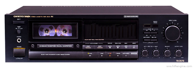 Onkyo Ta-2570 - Manual - Stereo Cassette Tape Deck