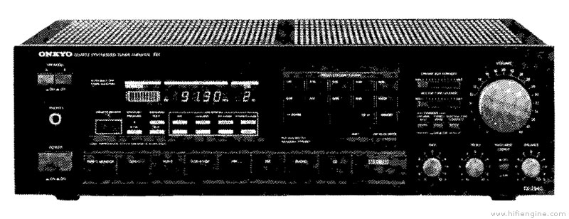 Onkyo Tx 7540 Manual Quartz Synthesized Tuner