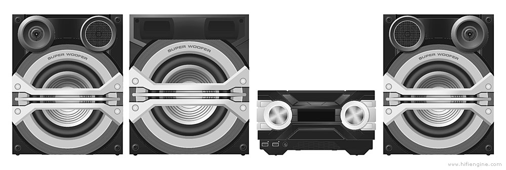 Panasonic Sa-akx800 - Manual - Cd Stereo System