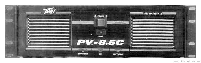 Peavey Pv 8 5c Manual Stereo Power Amplifier Hifi Engine
