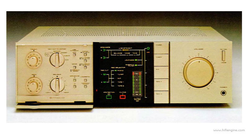 Pioneer A 8 Manual Stereo Integrated Amplifier Hifi