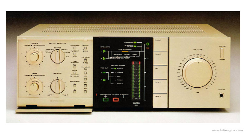Pioneer A Non Switching Stereo Amplifier