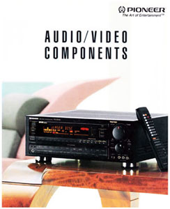 Pioneer Audio Video Components 1992